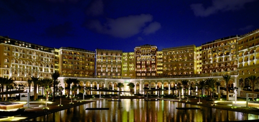 Exterior of The Ritz-Carlton Abu Dhabi, Grand Canal